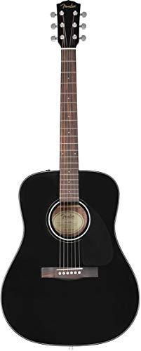 Fender CD-60 V3 DS BLK WN Westerngitarre