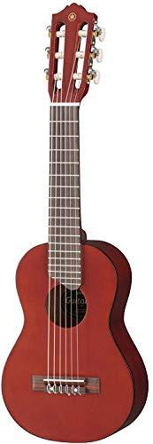 Yamaha Acoustic Guitalele, GL1 - Ein Hybrid aus Gitarre und Ukulele (70 cm) mit 6 Saiten (3 Nylon / 3 Metall umsponnen als Nylonsaitensatz bekannt) und passender Yamaha Gig Bag - Persimmon Brown