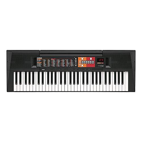 Yamaha Digital Keyboard PSR-F51, schwarz – Einfaches & benutzerfreundliches Einsteiger Instrument mit hochwertigen Instrumentenklängen & Begleit-Styles – Keyboard mit Duo Mode für 2 Spieler