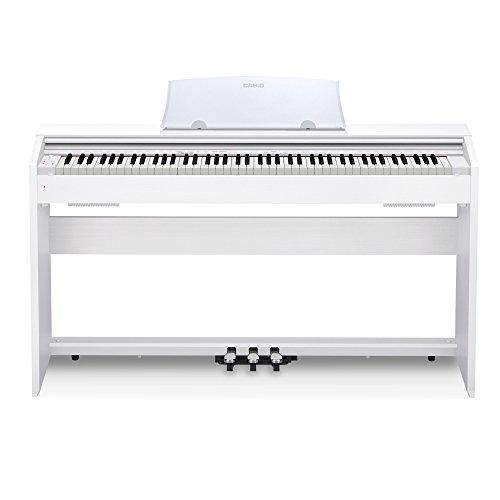 Casio PX-770 WH Privia Digital Home Piano Digital, Piano weiß