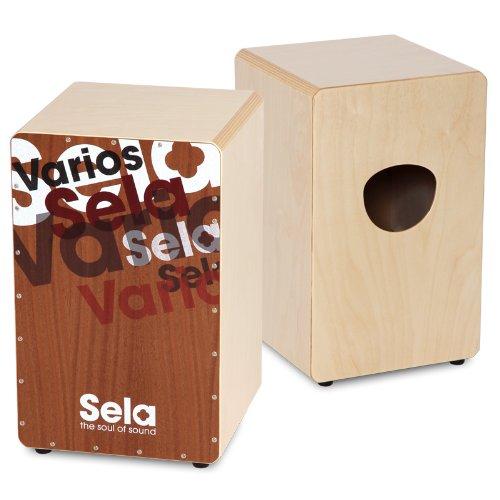 Sela SE 013 Varios Design Snare Cajon mit Sela Snare System, geeignet für Anfänger und Fortgeschrittene, Made in Germany